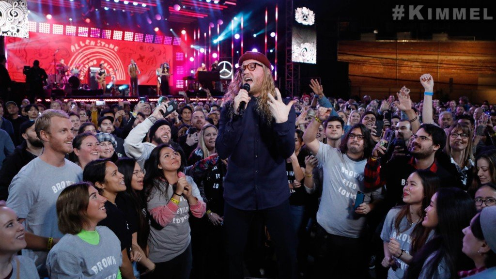 Chewelah native Allen Stone performs on Jimmy Kimmel Live