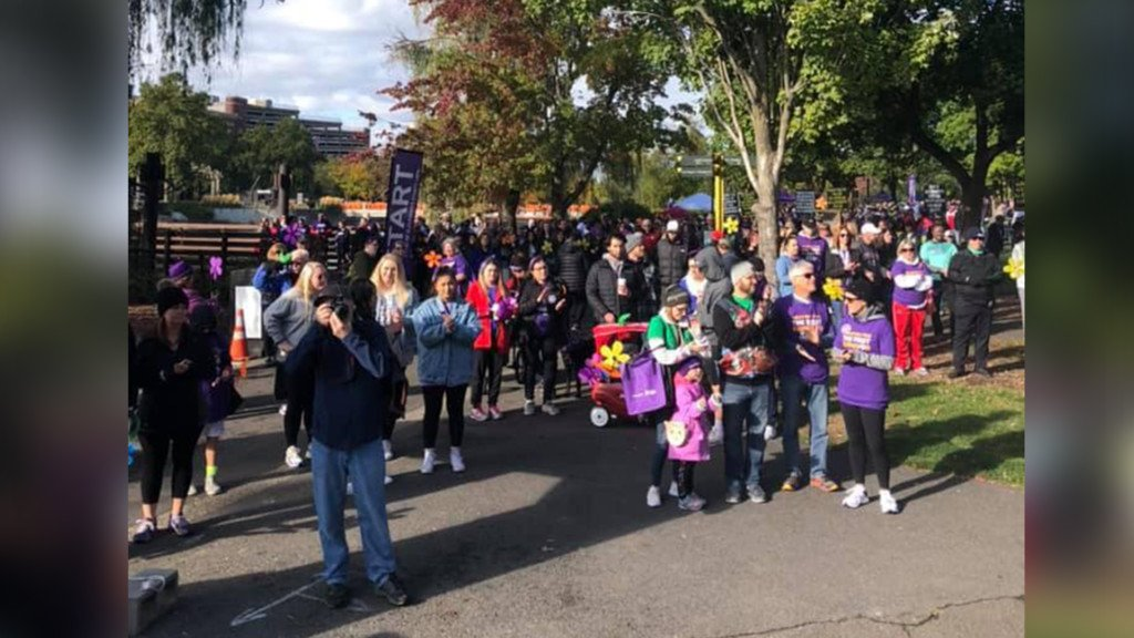 Event walkers at Riverfront Park raise over $150k for Alzheimer's research