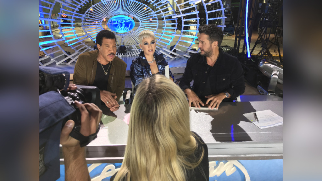 Katy Perry calls Coeur d'Alene 'Heaven on Earth' as American Idol auditions contestants there