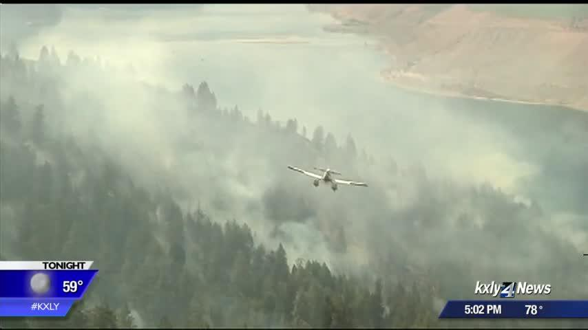 Homeowners grateful to still have house amidst Angel Springs Fire