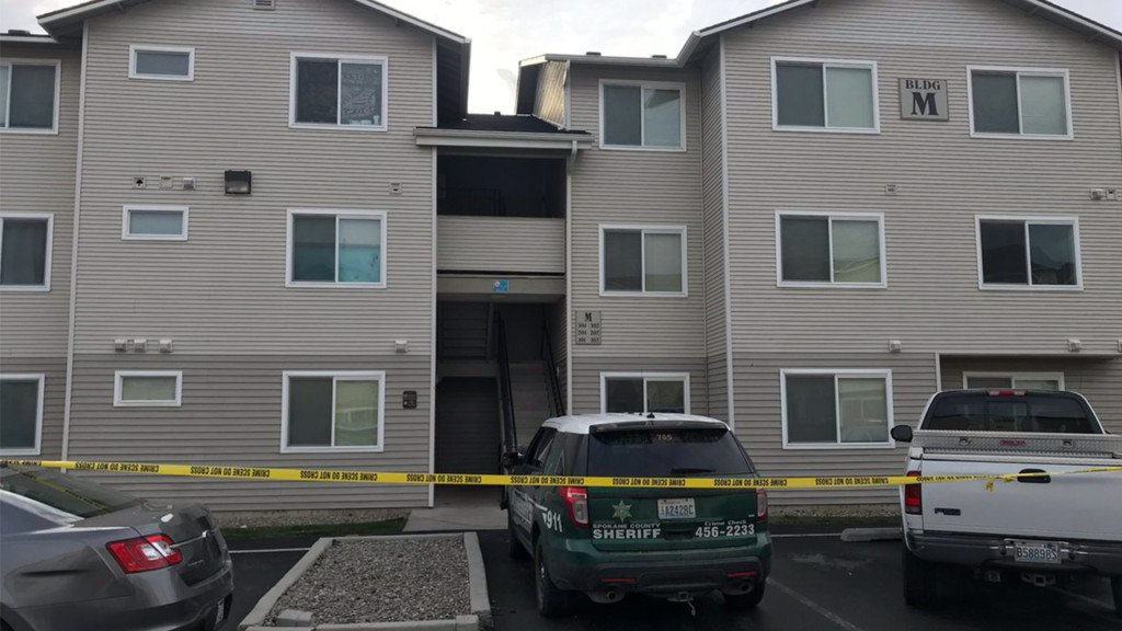Detectives investigating the death of a woman found in Spokane apartment