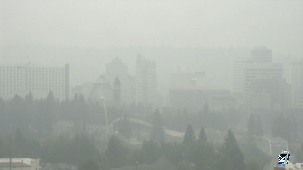 Many experiencing symptoms from unhealthy air quality