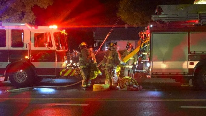 House fire displaces Spokane Valley family, no one injured