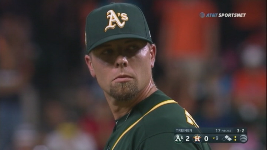 A's pitchers and Piscotty lead Oakland to shutout of Houston