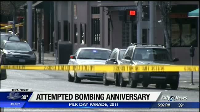 Attempted bombing anniversary
