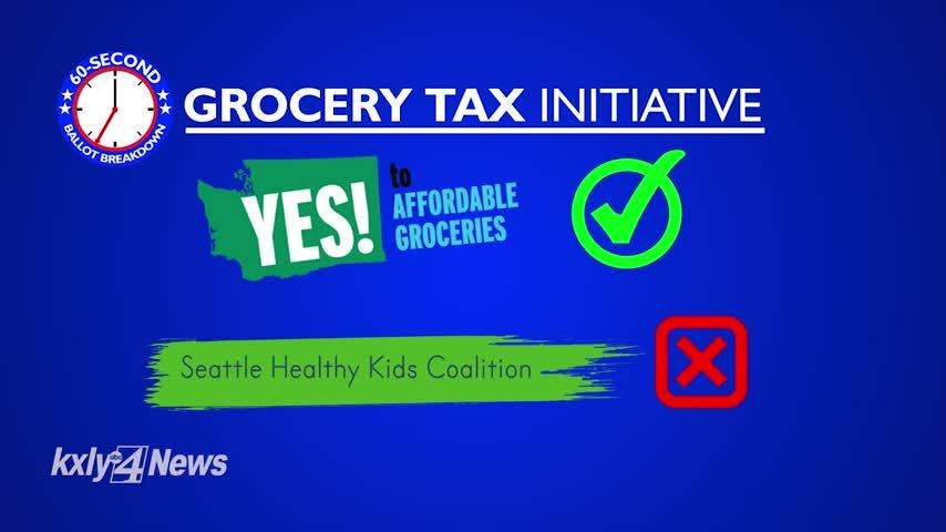 60-Second Ballot Breakdown: The Grocery Tax