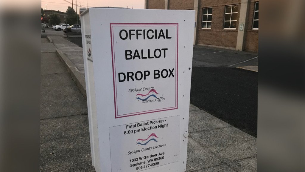 Where to find ballot drop boxes in Spokane County