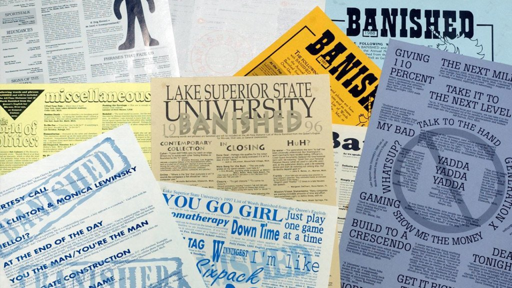 44th annual List of Words Banished released