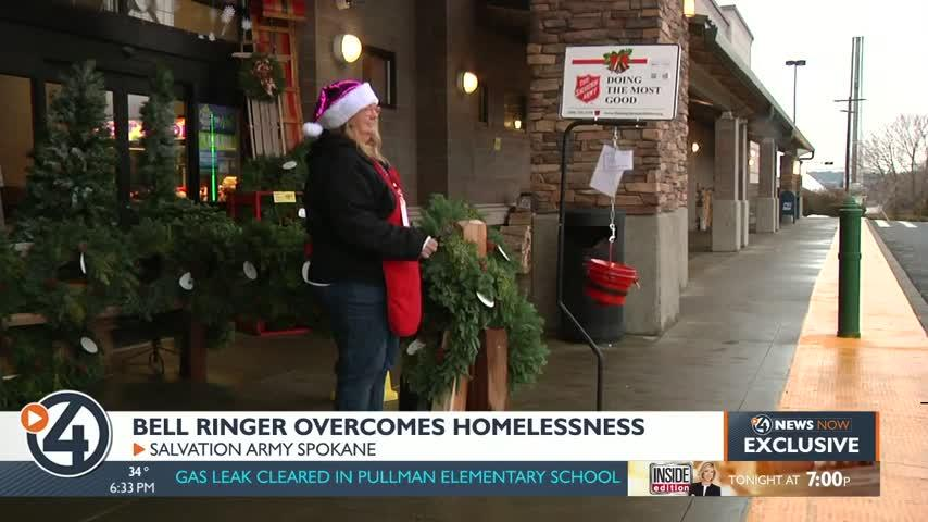 Bell ringer shares how the Salvation Army helped her go from homeless to housing