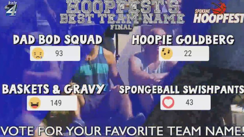 KXLY's Hoopfest Best Team Name Contest finds a winner