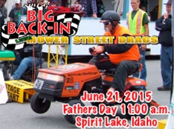 Lawn mowers will race through Spirit Lake this Father's Day