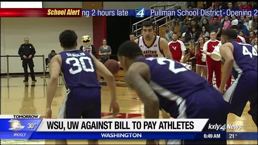 UW, WSU oppose bill that would allow college athletes to be paid
