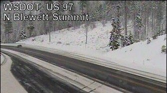 WSP responds to 9 weather-related crashes in 12 hours along Blewett Pass, one killed