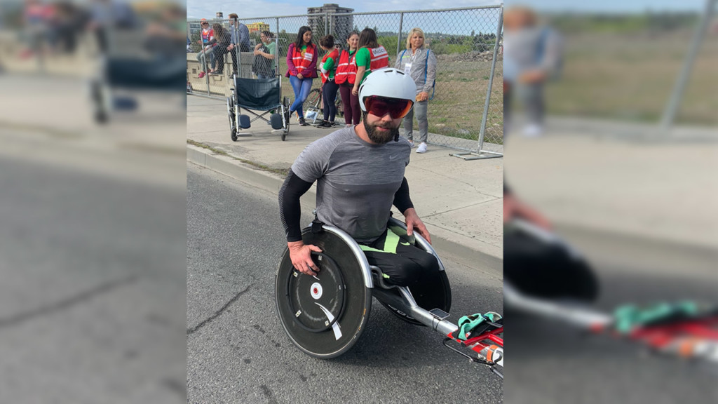Bloomsday 2019: 4-time paralympian Aaron Pike wins men's elite wheelchair race