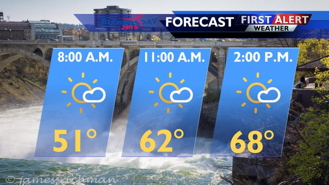 Weather looking perfect for Bloomsday runners