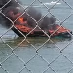 Boat fire shuts down I-90 in Moses Lake Thursday afternoon