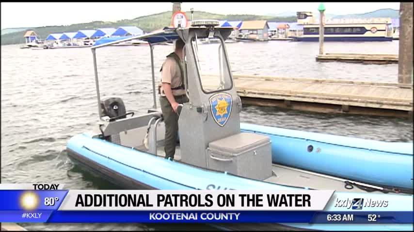 US Coast Guard joins Kootenai County Sheriff's Office in Fourth of July patrols