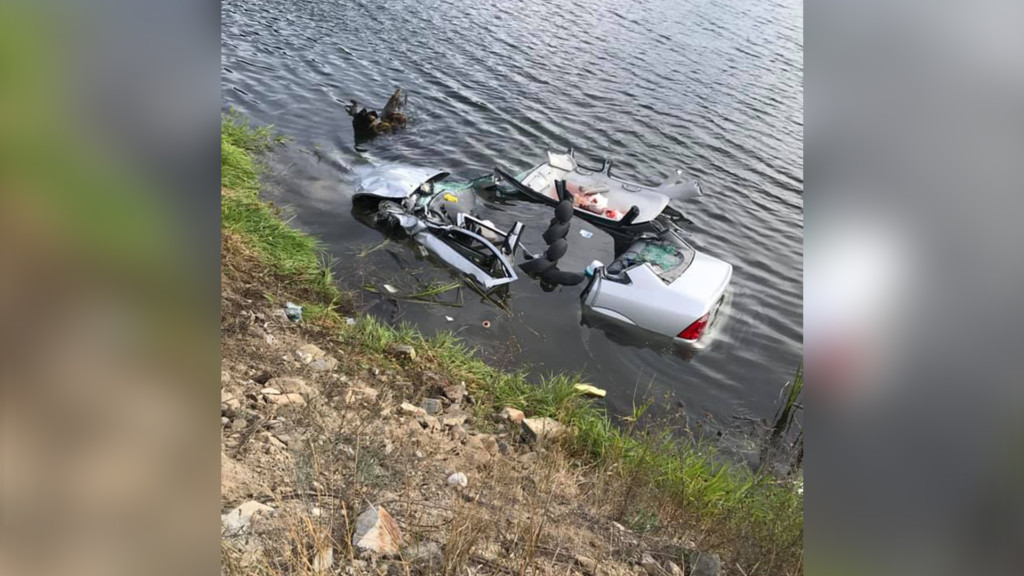 Highway 200 crash sends car into river, driver rescued