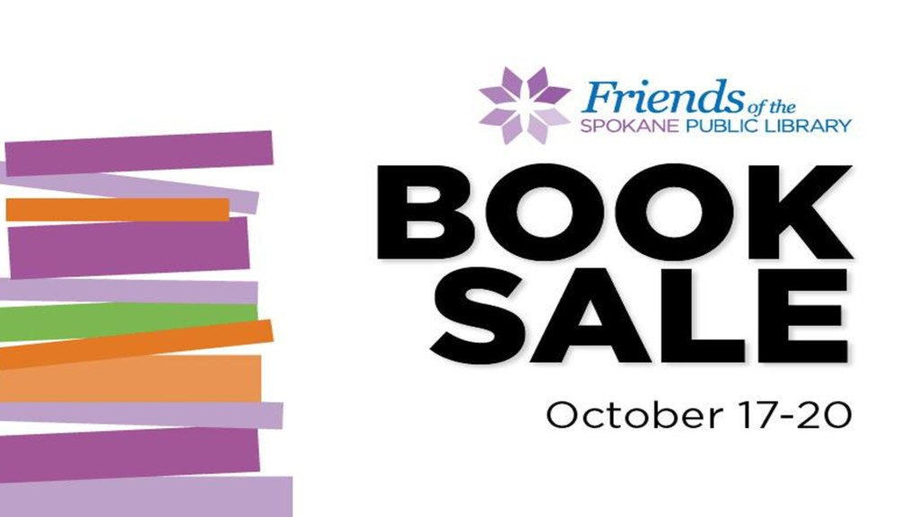 The Friends of the Spokane Public Library Book Sale is back this Fall!