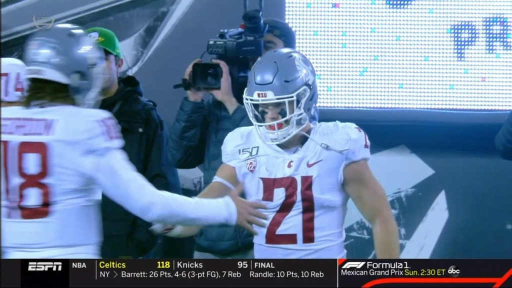 Washington State loses to No. 11 Oregon on last-second field goal, 37-35