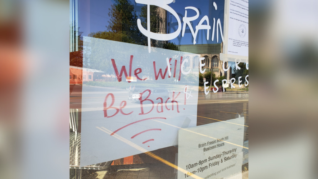 Brain Freeze permanently closing South Hill location amid report of unpaid taxes