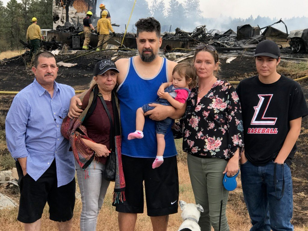 Family of 6 loses home in devastating fire