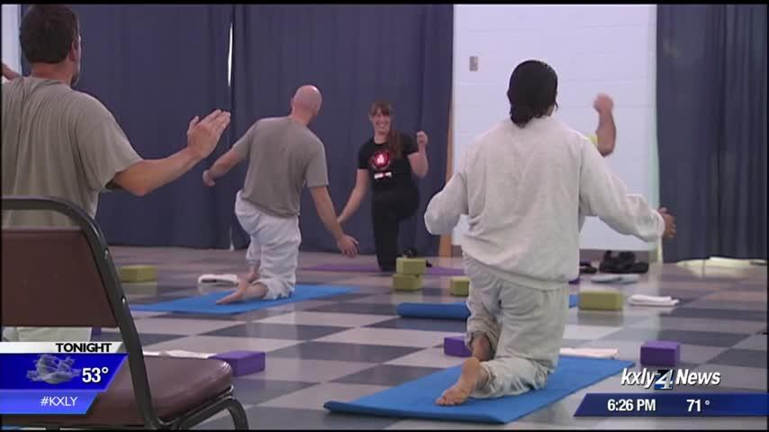 Breaking the cycle of time: AHCC yoga program helps inmates build skills, find relief