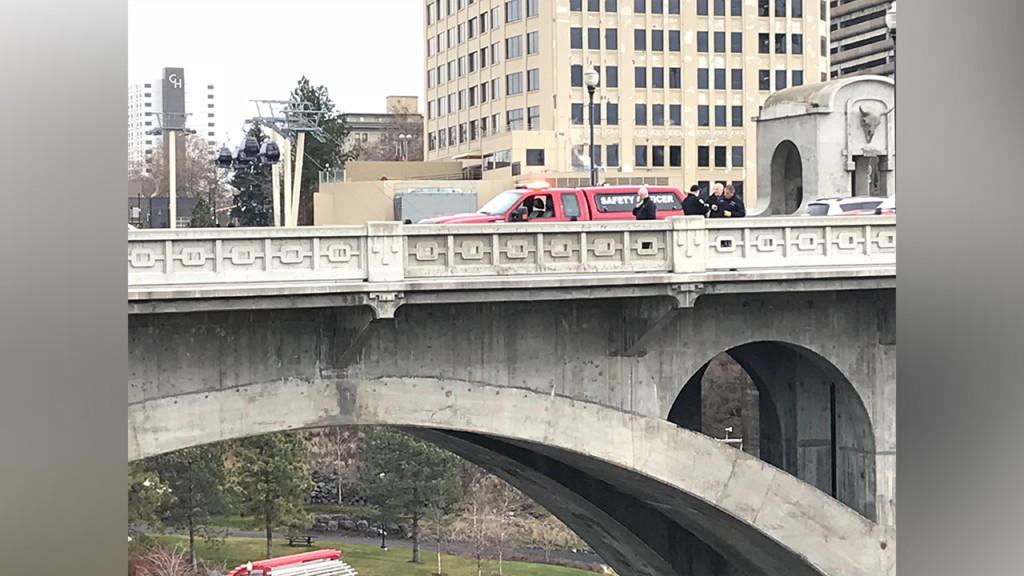 Portion of Monroe Street Bridge, Centennial Trail closes after reported water rescue