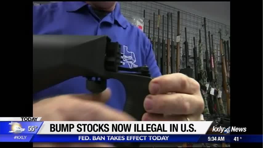 Federal bump stock ban now in effect, Supreme Court denies appeal