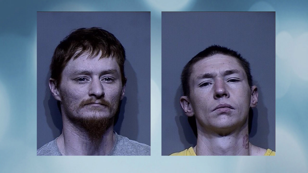 2 arrested for New Year's burglary
