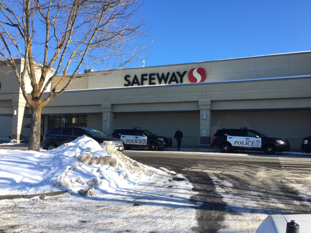 Spokane police investigating another grocery store bank robbery