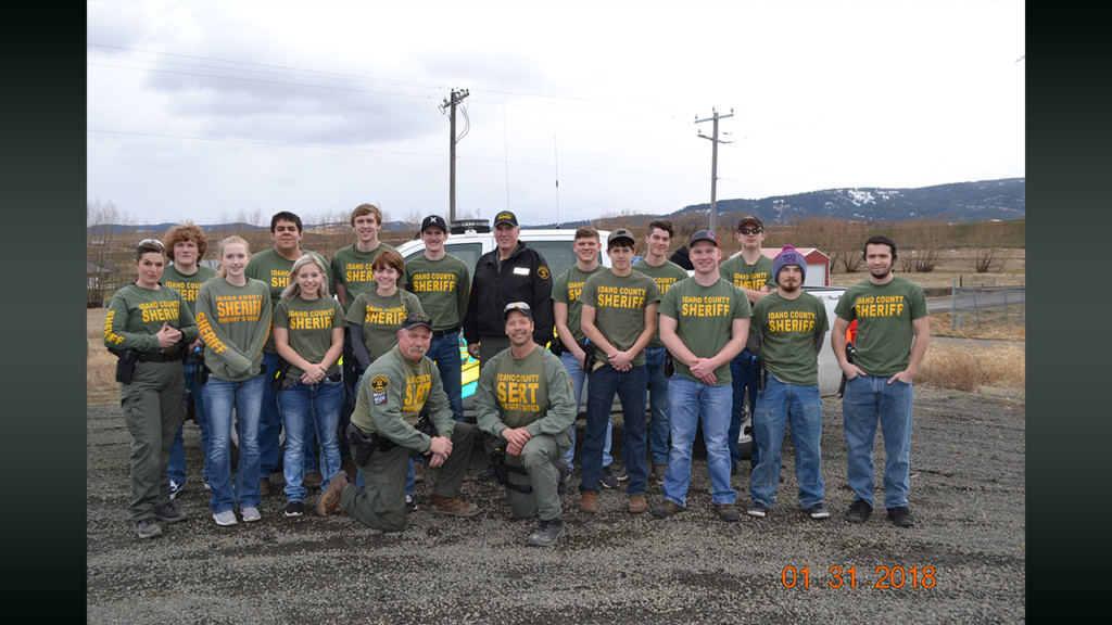 Students learn the ropes of law enforcement