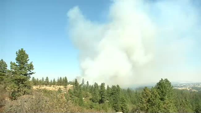 Campfire to blame for fire in west Spokane