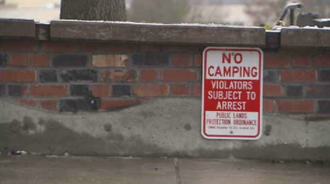 City says warming shelter openings prompted Camp Hope closure