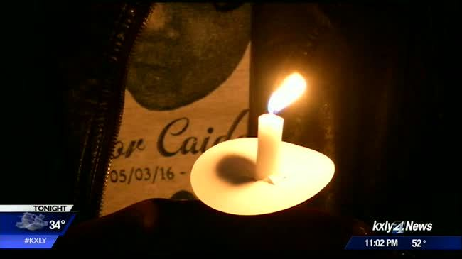 Candle light vigil honors little boy killed while in care of babysitter