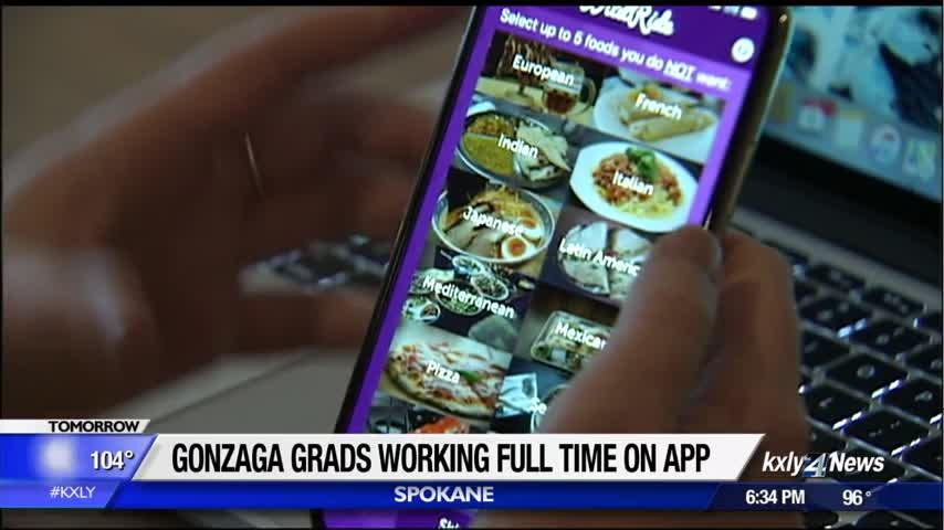 Can't decide where to go for dinner? Gonzaga grads create app for that