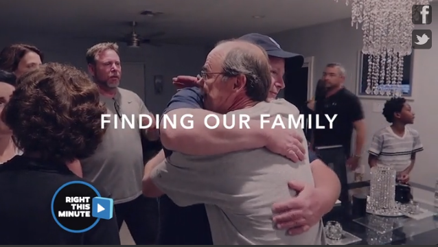 Man meets his birth family 56 years later