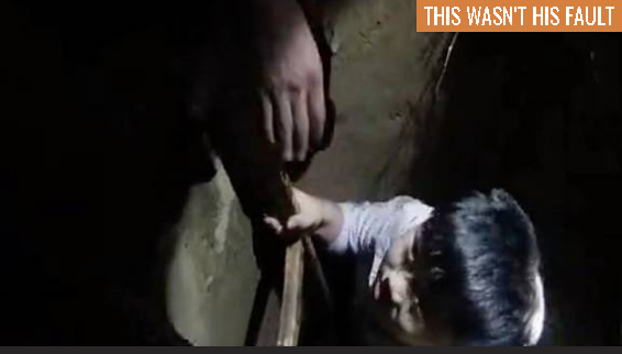 Courageous kid rescued from unmarked well
