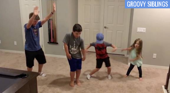 Family dance-off time!