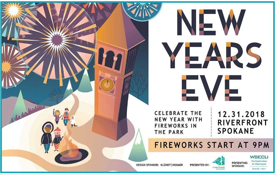 Celebrate New Year's Eve with free event in Spokane