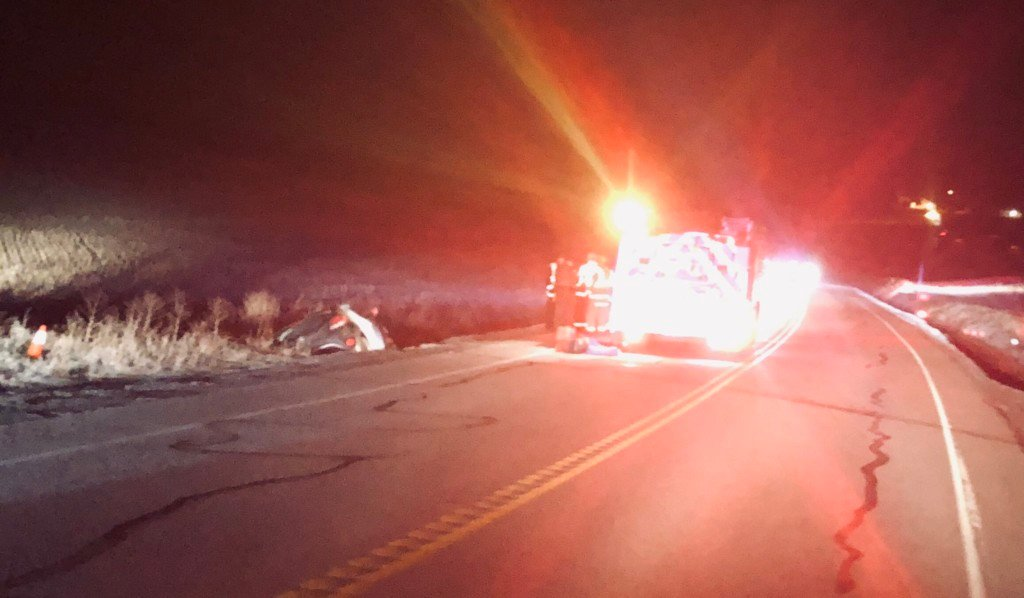 Deadly early morning car crash on Palouse Highway & Odell Road