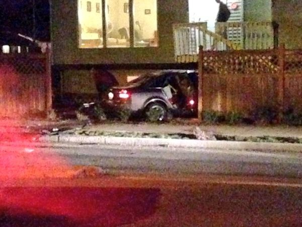 Police pursuit ends in South Hill front yard