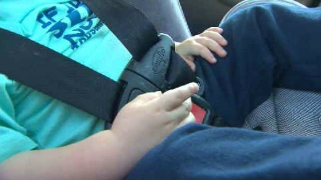 'I went right into the windshield': police officer reflects on crash, new car seat regulations