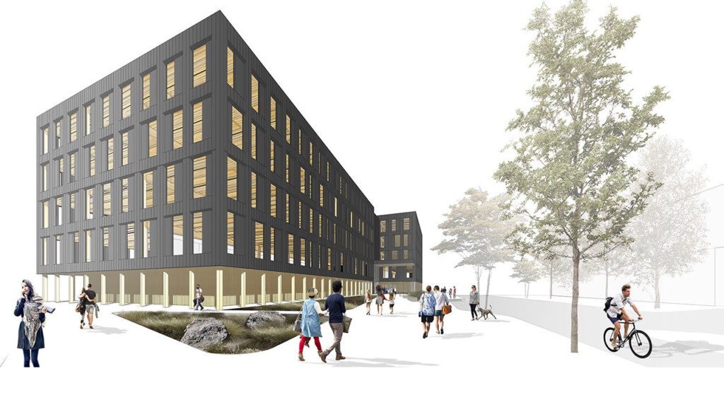 "Ground broken on new net-zero ""Catalyst"" building in South University District"