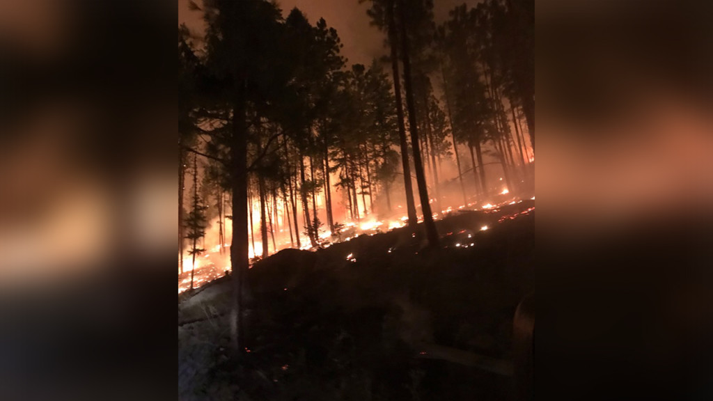 CCC Fire near Cataldo fully contained