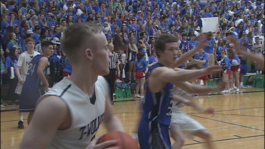 Fight For The Fish And Golden Throne Highlights HS Hoops
