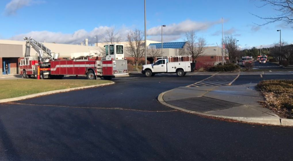Chase Middle School evacuated when heating unit starts smoking
