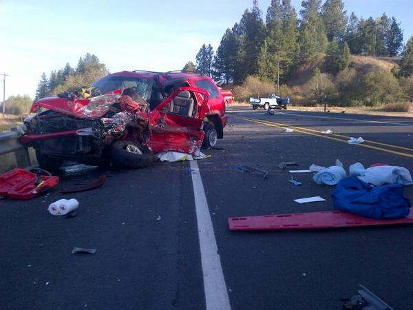Driver was on phone during time of collision in Chattaroy