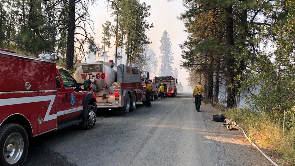 More firefighters set to respond to fire danger in forecast