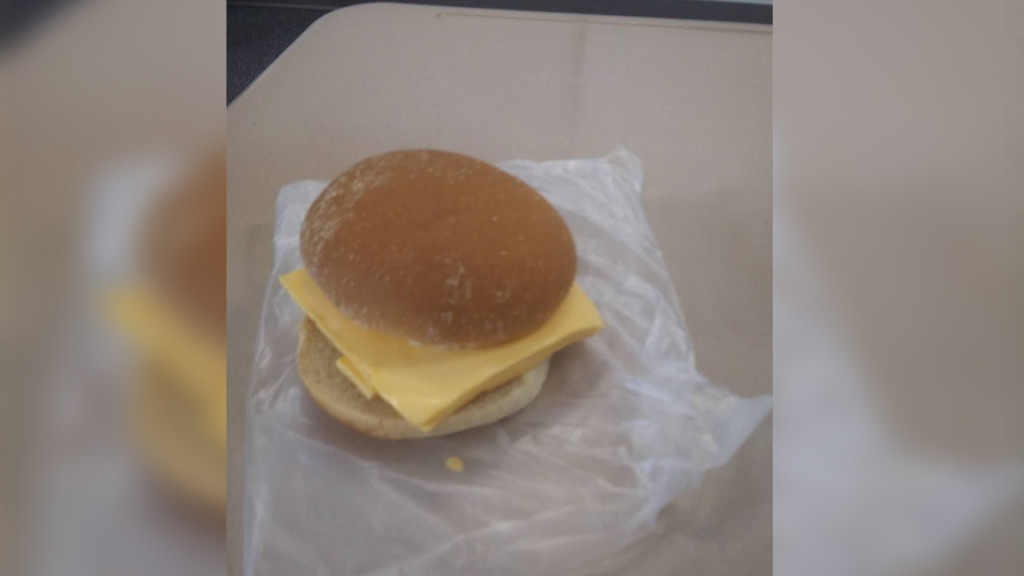Post Falls High School student with low account served cold cheese sandwich